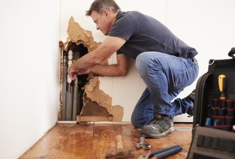 square of Water Damage a Problem? Find the Right Repairs