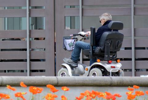 square of Mobility Scooters Help People Retain Their Independence