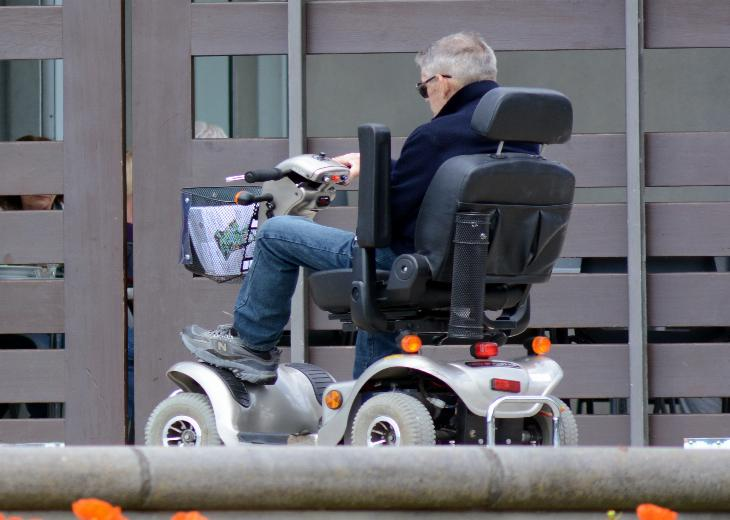 thumbnail of Mobility Scooters Help People Retain Their Independence