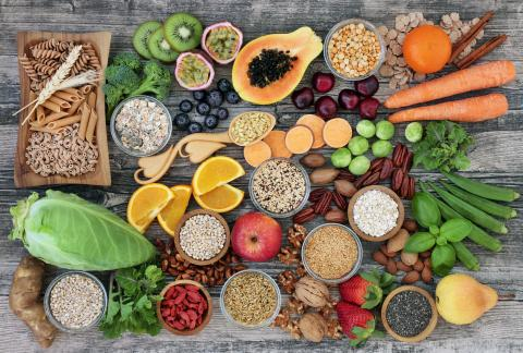 square of These High Fiber Foods Are Great Options