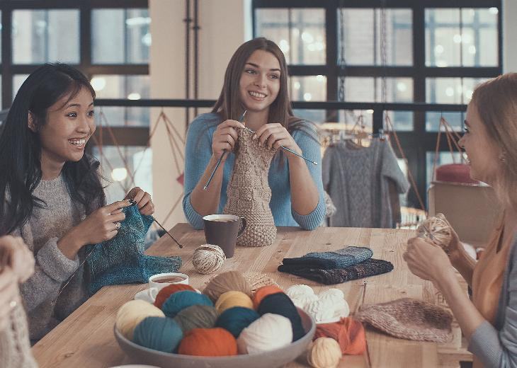 thumbnail of Knitting Has Made a Comeback as a Trendy Hobby