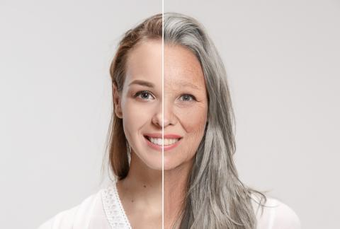 square of A Person's Hormones Evolve and Change As They Age
