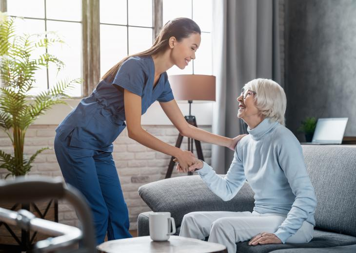 thumbnail of At Home Care Can Make Life More Comfortable