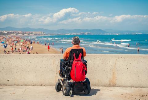 square of Electric Wheelchairs Ensure People Maintain As Much Mobility as Possible