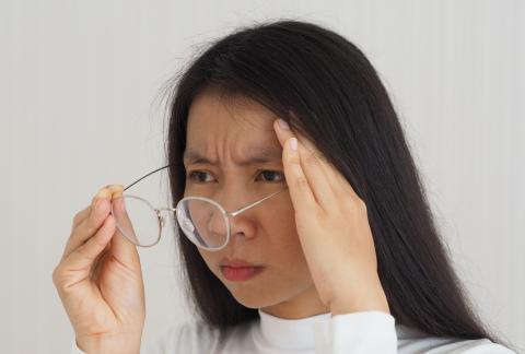 square of Eye Floaters Are Often Caused by Age Related Changes To the Body