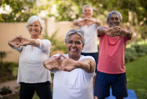 square of Weight Loss Techniques for Seniors