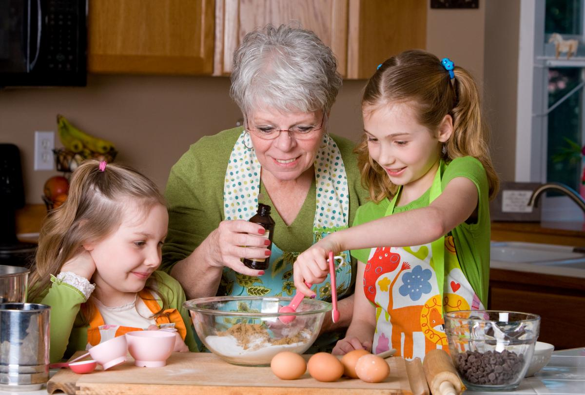 banner of Quick & Easy Recipes for Grandkids