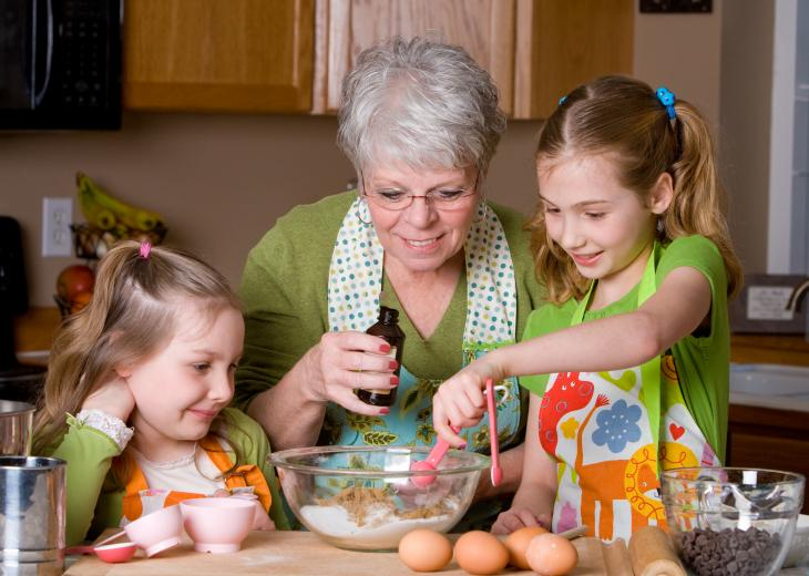 thumbnail of Quick & Easy Recipes for Grandkids