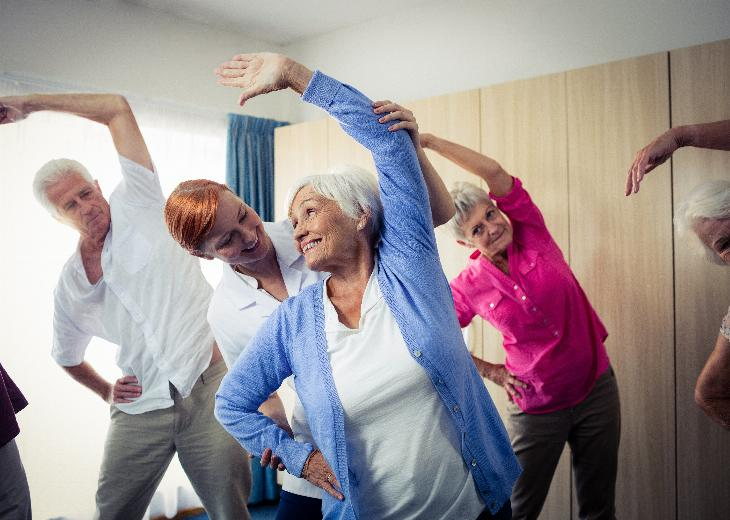 thumbnail of Group Exercise Classes are Social & Healthy