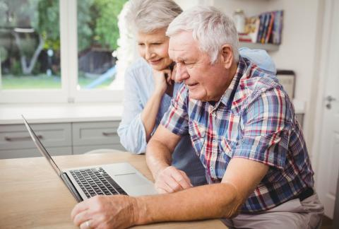 square of Great Services for Seniors to Share Pictures With Family